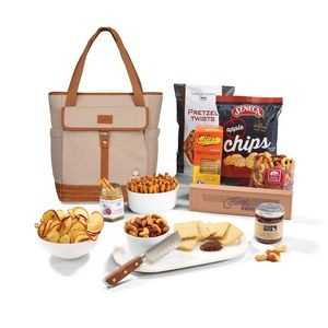 Igloo® Legacy Everything but the Cheese Gift Set With Knife Natural-Brown